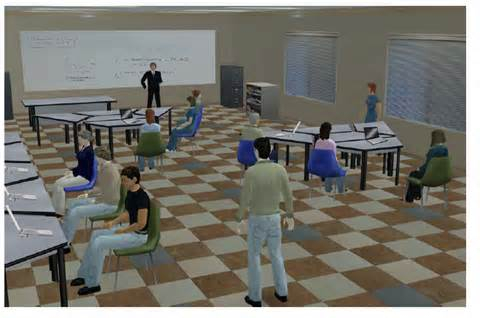 clase virtual en second life